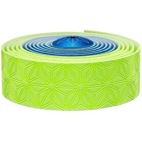 Supacaz Super Sticky Kush Handelbar Tape yellow/blue